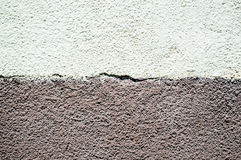 Texture painted concrete wall. The surface of the old cracked concrete wall Royalty Free Stock Photography