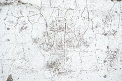 Texture painted concrete wall. The surface of the old cracked concrete wall Stock Image