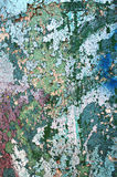 Texture painted concrete wall. The surface of the old cracked concrete wall with peeling paint Royalty Free Stock Photos