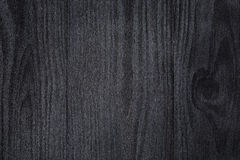 Texture of painted pine wood with black semiglossy paint Stock Image
