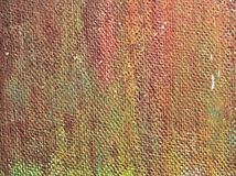 Texture of painted rough metal plate as background Stock Photo