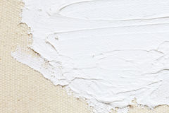 Texture painting white abstract background Royalty Free Stock Photography