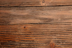 Texture panel of boards, dark brown Stock Photography