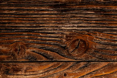 Texture panel of boards, dark brown Stock Photo