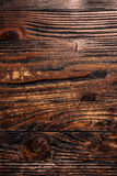 Texture panel of boards, dark brown Royalty Free Stock Images
