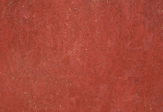 Texture panel of chipboard, painted in red Stock Photos