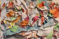 Texture of paper. Texture of old crumpled paper for background stock photos