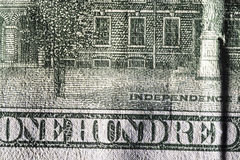 Texture paper, paper money fragment. Stock Photo