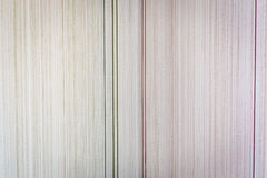 Texture of paper wallpaper in a small strip of beige shades Stock Image