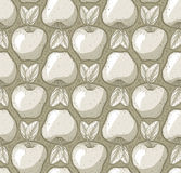 Texture pattern with apples. Detailed illustration of a texture pattern with apples Royalty Free Stock Images