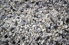 Texture, pattern, background. marble chips for landscaping pebbles close-up samples Stock Photography