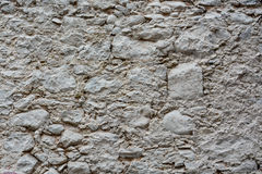 Texture, pattern, background of old stone wall Royalty Free Stock Photography
