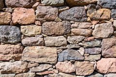 Texture, pattern, background of old stone wall Stock Photo