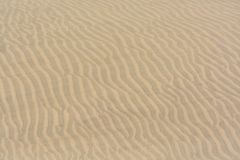 Texture, pattern, background of sand in the dunes of Maspalomas, Grand Canary Royalty Free Stock Image