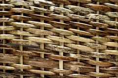 Texture pattern background, woven wood Royalty Free Stock Photos