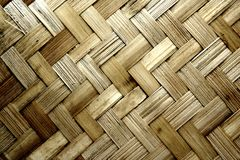 Texture pattern background, woven wood Royalty Free Stock Image
