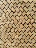 Texture pattern of bamboo weave Stock Image