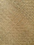Texture pattern of bamboo weave Stock Photos