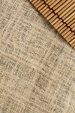 The texture and pattern of canvas and japanese mat background Stock Image