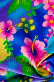 Texture, pattern. Cloth with patterned patterns of bright colors stock photography