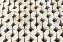 Texture pattern of concrete paved ground Stock Image