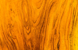 Texture and pattern of gold teak wood Stock Photography