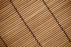 The texture and pattern of japanese mat background Stock Images