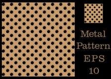 Texture pattern of metal vector illustration