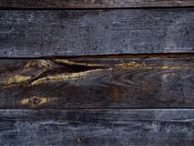 Texture and pattern of old dark wood.Old wood concept in vintage tone. Copy space royalty free stock photos