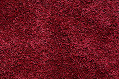 The texture and pattern of red carpet for background Royalty Free Stock Photo