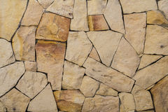 The texture and pattern of rock wall Stock Photography