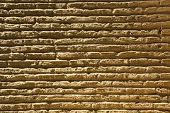 Brick wall pattern image,brick wall pattern viewing, masonry, brick wall pattern picture, texture, wallpaper. Wall made with brick filled with superficial paint Stock Images