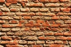 Brick wall pattern image,brick wall pattern viewing, masonry, brick wall pattern picture, texture, wallpaper. Wall made with bricks filled with clay Royalty Free Stock Image