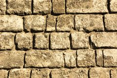 Stone wall pattern image,stone wall pattern picture,  masonry, stone wall pattern viewing, texture, wallpaper. Wall made of natural stone work and squared Royalty Free Stock Photos