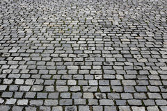 Texture paved road Stock Photo
