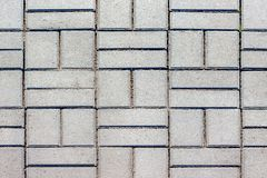 Texture of paving slabs. Arrangement of city streets and squares. _n Royalty Free Stock Photography