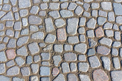 Texture of paving slabs Royalty Free Stock Photo