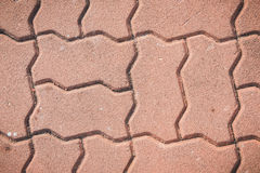 Texture paving stone blocks footpath background Royalty Free Stock Photography