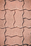 Texture paving stone blocks footpath background Stock Image