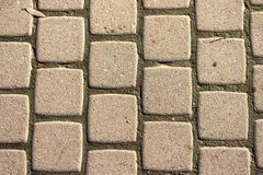 Texture paving tiles royalty free stock image