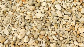 Texture of pebbles. At sea stock footage