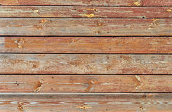 Texture of peeled painted wooden wall Royalty Free Stock Photography