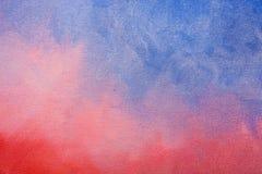 Texture peinte de toile Images libres de droits