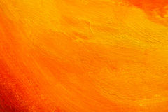 Texture peinte orange Photographie stock libre de droits