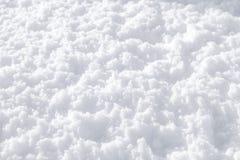 Texture pelucheuse de neige Images libres de droits