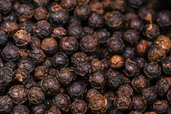 Texture of pepper, close up shot Royalty Free Stock Photography