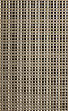 Texture of perforated plastic Stock Images