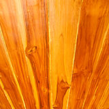 Texture of perspective wooden wall Stock Images