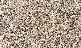 Texture - petites pierres de différentes couleurs Photographie stock libre de droits