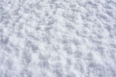 Texture photo of white snow. Snow background image stock image